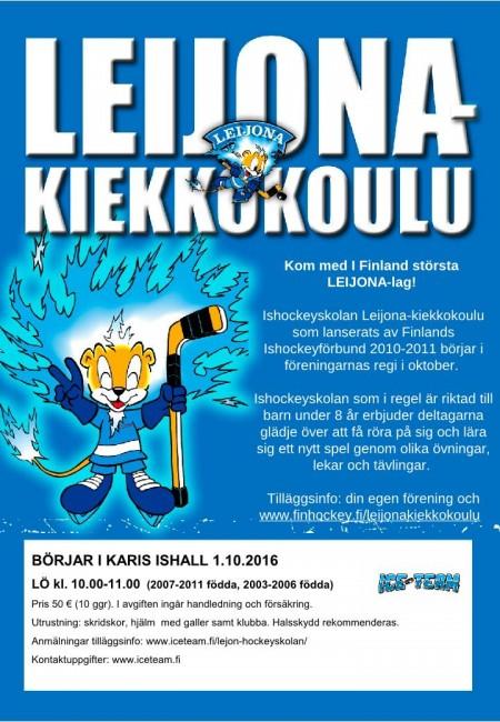 Leijona-kiekkokoulu